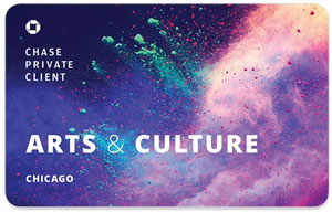 Chase Arts and Culture Card